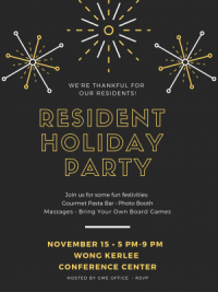 Resident Holiday Party