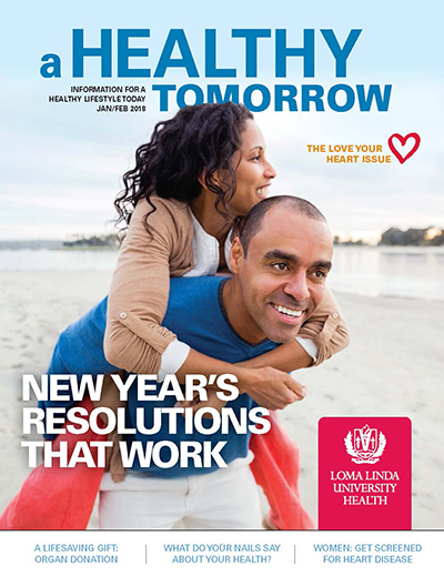 Jan- Feb 2018 A Healthy Tomorrow cover