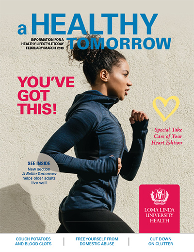 Feb - Mar 2019 A Healthy Tomorrow cover