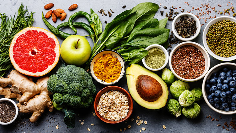 Various plant-based foods that help fight cancer
