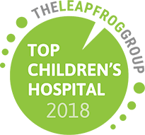 The Leapfrog Group Top Children's Hospital 2018 Award