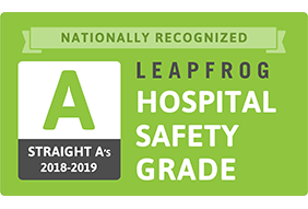 "Leapfrog Hospital Safety Grade ""A"""