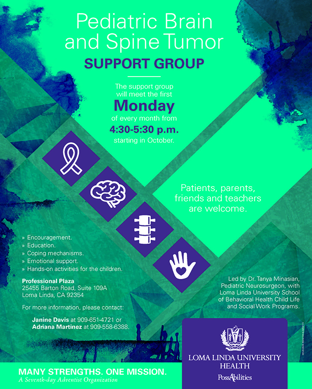 Pediatric Brain and Spine Tumor Support Group