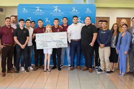Kappa Sigma Fraternity donates $13,000 to Loma Linda University Children's Hospital
