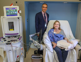 Inland Empire's first photopheresis to treat organ transplant rejection offered at Loma Linda University Health