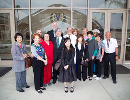 Guests travel from Japan to honor the late Dr. Bailey