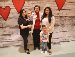 A heart transplant doctor's life-saving connection saves two new mothers