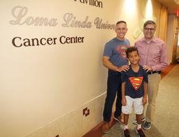 A kindergartener and cancer specialist help principal beat rare cancer