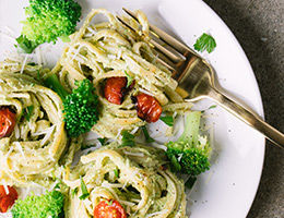 Broccoli Pesto Linguini