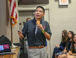 Dr. Tan Presents Vaping Risks to Students