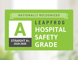 "The Leapfrog Group ""A"" Grade 2020"