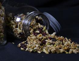 Granola de Semillas y Nueces