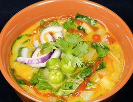 Sopa de Curry Tailandes