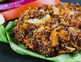 Gluten-Free Quinoa Burgers