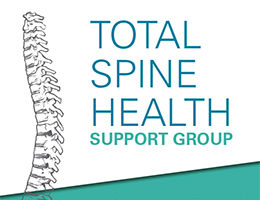 Total Spine Health Support Group flyer