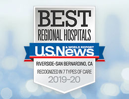 U.S. News & World Report Best Regional Hospitals Award 2019-20